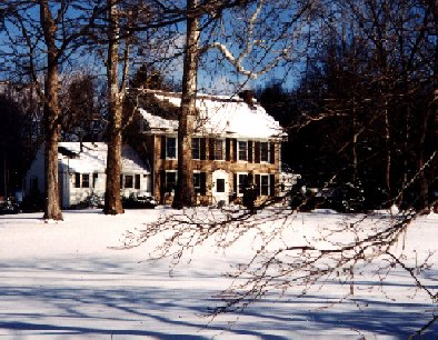 Morningstar House in the Winter